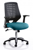 Relay Colour Office Chair Kingfisher