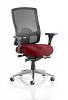 Regent Mesh Back Office Chair Chilli