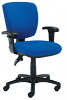 Notion Mid Back Operator Chair with Adjustable Arms