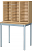 Premium 18 Space Pigeonhole with Table