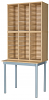 Premium Pigeonhole Unit With 36 Spaces and Table
