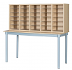 30 Space Pigeonhole with Table