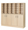 Premium Pigeonhole Unit With 30 Spaces and Cupboards