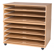 7 Sliding Shelves A1 Paper Storage