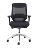 Vogue Mesh Back Office Chair with Black Seat Front