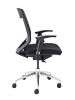 Vogue Mesh Back Office Chair with Black Seat Side