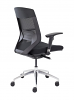 Vogue Mesh Back Office Chair with Black Seat Back Angle
