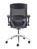 Vogue Mesh Back Office Chair with Black Seat Back