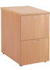 Essential - 2 Drawer Filing Cabinet Beech