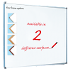 Single Sided Magnetic Whiteboard - Coated Steel with Aluminium Frame