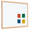 Single Sided Magnetic Whiteboard - Coated Steel with a 40mm Light...
