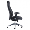 Odessa High Back Executive Leather Chair Side
