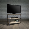 Industrial Style TV / Trestle Shelf