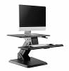 Gas-spring Sit-Stand Workstation with weighted base