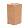 Impulse Filing Cabinet 3 Drawer Oak