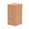 Impulse Filing Cabinet 3 Drawer Oak