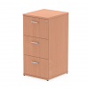 Impulse Filing Cabinet 3 Drawer Beech