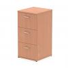 Impulse Filing Cabinet 3 Drawer Beech
