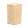 Impulse Filing Cabinet 3 Drawer Maple