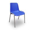 Poly chairs cobalt