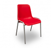 Poly chairs red