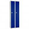 Single Door Locker - Nest of 2 Blue