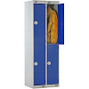 Two Door Locker - Nest of 2 Blue