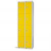 Four Door Locker - Nest of 2 Yellow