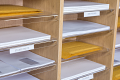 Premium Wall Mountable Pigeonhole Unit With 3 Spaces