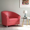 Relax Tub Armchair Red