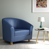 Relax Tub Armchair Blue