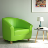 Relax Tub Armchair Green