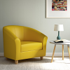 Relax Tub Armchair yellow