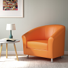 Relax Tub Armchair Orange