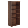 Essentials - 1800mm High Bookcase Walnut