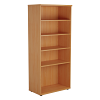Essentials - 1800mm High Bookcase Beech