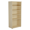 Essentials - 1800mm High Bookcase Maple