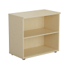 Essentials - Desk High Bookcase Maple