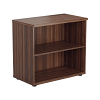Essentials - Desk High Bookcase Walnut