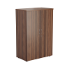 Essentials - 1200mm High Cupboard Walnut
