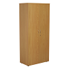 Essentials - 1800mm High Cupboard Oak