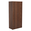 Essentials - 1800mm High Cupboard Walnut