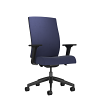 Ash High Back Chair Blue