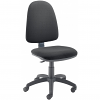 Zoom High Back Operator Chair Black