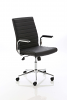 Ezra Executive Leather Chair Black