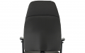 Esme Black Fabric Posture Chair With Height Adjustable Arms