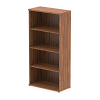 Impulse Bookcase 1600 Walnut