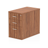 Impulse Desk High Pedestal 3 Drawer 800 Walnut