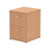Impulse Filing Cabinet 2 Drawer Oak