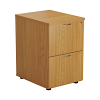 Essential - 2 Drawer Filing Cabinet Oak